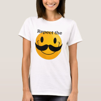 Respect the Moustache T-Shirt