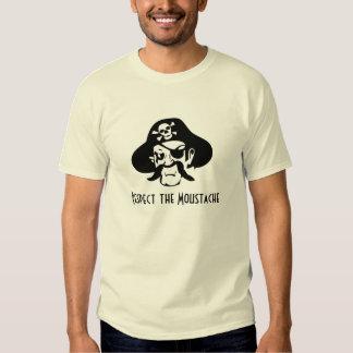 Respect the Moustache Tshirt