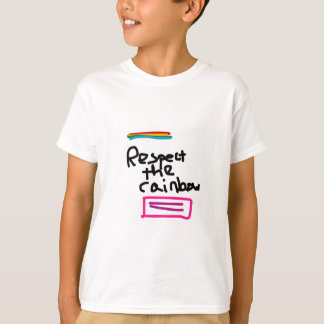 Respect the Rainbow - Marriage Equality T-Shirt