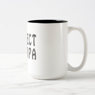 """Respect the Sherpa"" Mountaineering Two-Tone Mug"