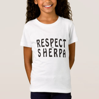 """""""Respect the Sherpa"""" Mountaineering T-Shirt"""