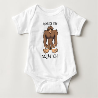 RESPECT THE SQUATCH BABY BODYSUIT