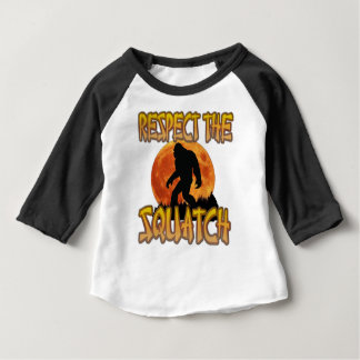Respect The Squatch Baby T-Shirt