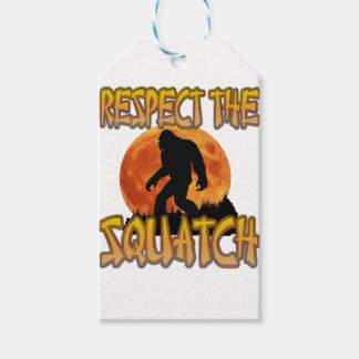 Respect The Squatch Gift Tags