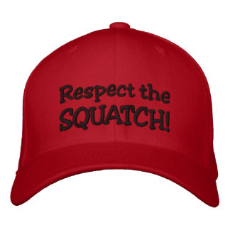 RESPECT THE SQUATCH!  Look like a PRO in Bobo's Baseball Cap