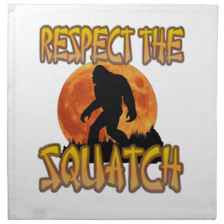 Respect The Squatch Napkin