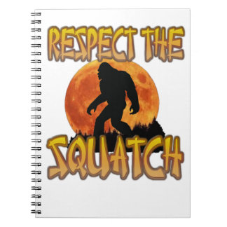 Respect The Squatch Notebooks