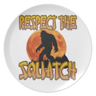 Respect The Squatch Plate