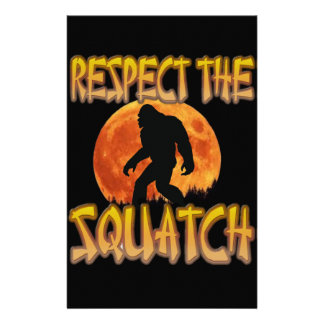 Respect The Squatch Stationery
