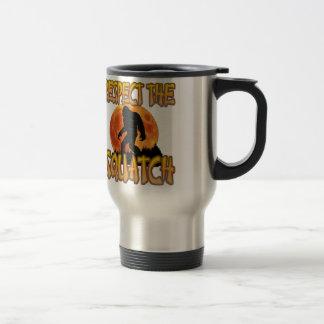 Respect The Squatch Travel Mug