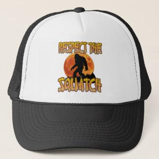 Respect The Squatch Trucker Hat