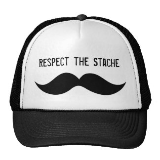 Respect the Stache hat