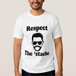 Respect The 'Stache Shirt