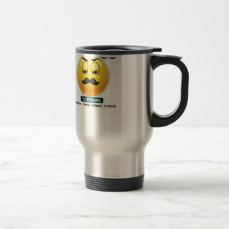 Respect The Stache - The Connoisseur Travel Mug