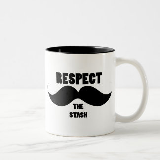 Respect the Stash Two-Tone Mug
