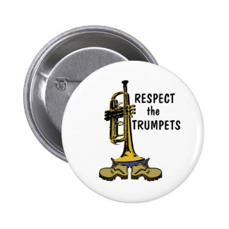 Respect the Trumpets Buttons