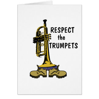 Respect the Trumpets Cards