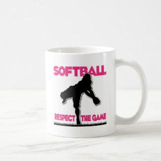 Respect, throwing, melon coffee mug