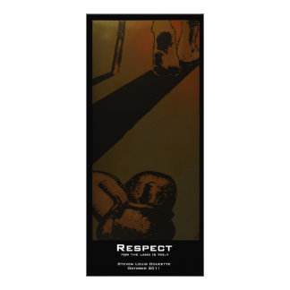 """Respect"" Value Bookmarks Rack Card"