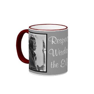 respect wisdom mug