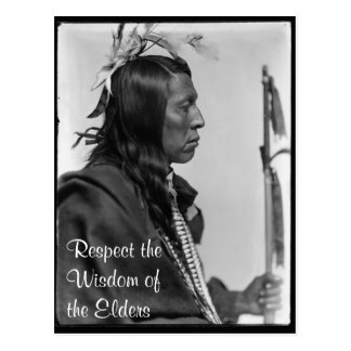respect wisdom postcard
