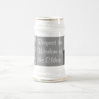 respect wisdom stein beer steins