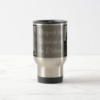 respect wisdom travel mug