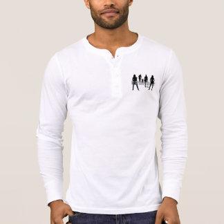 Respect Women Men's Canvas Henley Long Sleeve T-Shirt