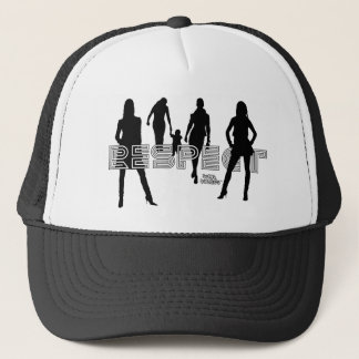 Respect Women Trucker Hat
