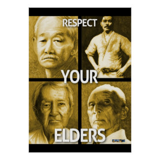Respect Your Elders (large poster) Poster