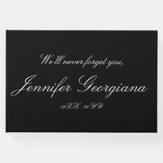 Respectable, Elegant Memories Guestbook