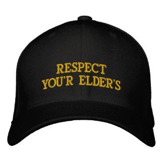 RESPECTYOU'R ELDER'S BASEBALL CAP