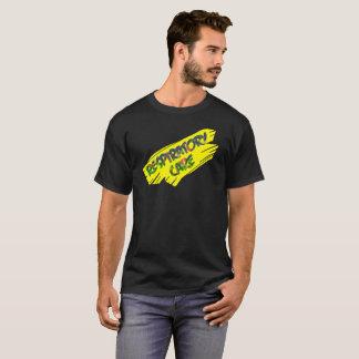 RESPIRATORY CARE YELLOW SLASH by Slipperywindow T-Shirt