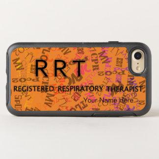 RESPIRATORY RRT CUSTOMIZABLE  by Slipperywindow OtterBox Symmetry iPhone 8/7 Case
