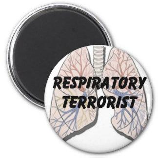 Respiratory terrorist magnet