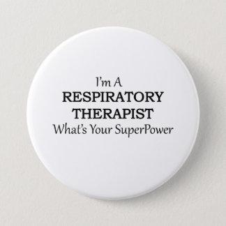 RESPIRATORY THERAPIST 7.5 CM ROUND BADGE