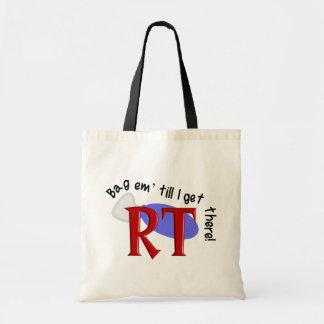 Respiratory Therapist Bag Em' Tote Bags III