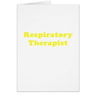 Respiratory Therapist Card