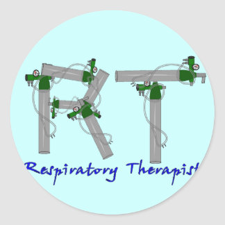 Respiratory Therapist Gifts O2 Tank Design Sticker