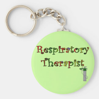Respiratory Therapist O2 Tank Design Key Ring