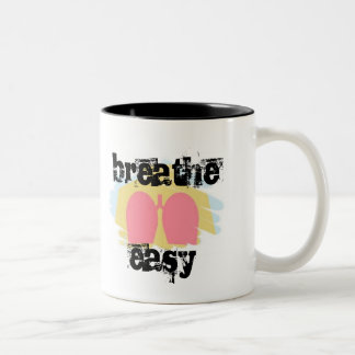 Respiratory Therapy Breathe Easy Lungs Mug RT