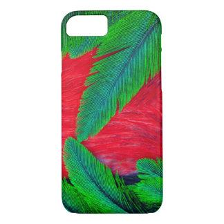 Resplendent Quetzal feather design iPhone 7 Case