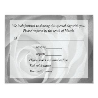 Response Card For Wedding 11 Cm X 14 Cm Invitation Card