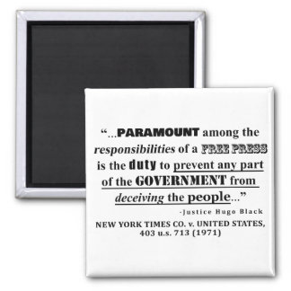 Responsibilities of a FREE PRESS Case Law Magnet