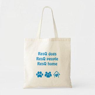 ResQ dogs, ResQ people, ResQ home Tote Bag