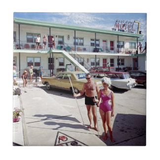 Rest Cove Motel in the 1960's Tile