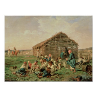 Rest during Haying, 1861 Poster