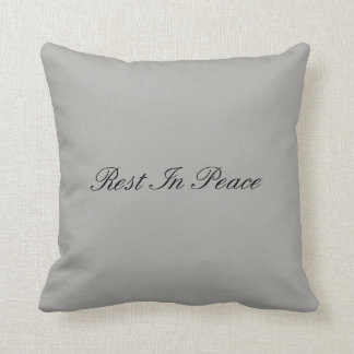 Rest In Peace - Gothic Pillow
