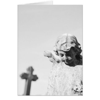Rest in peace greeting card