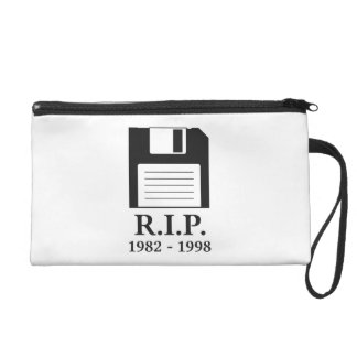 Rest in Peace RIP Floppy Disk Wristlets